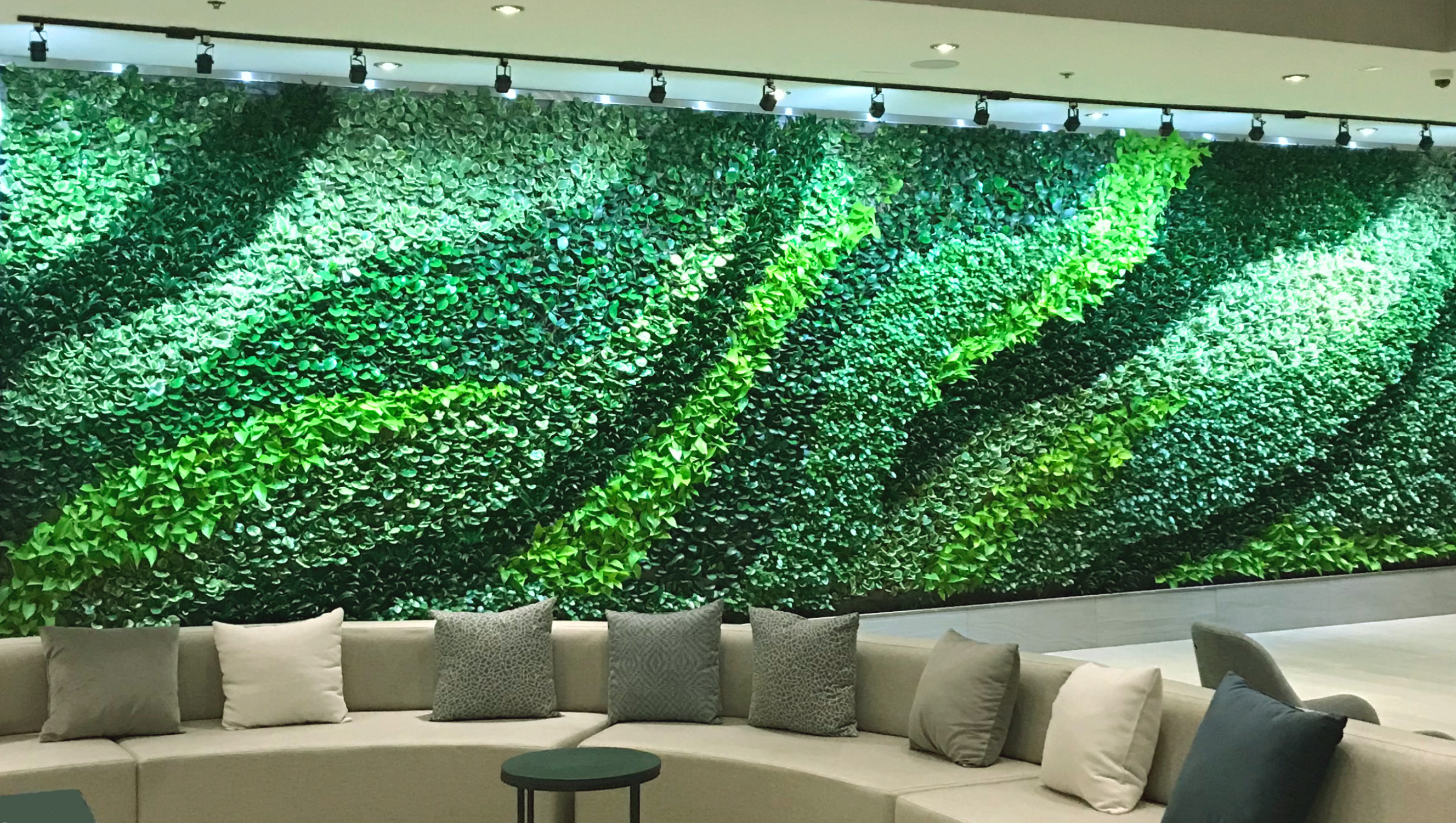 Living walls in the workplace vertical oxygen - How to make a living wall ...